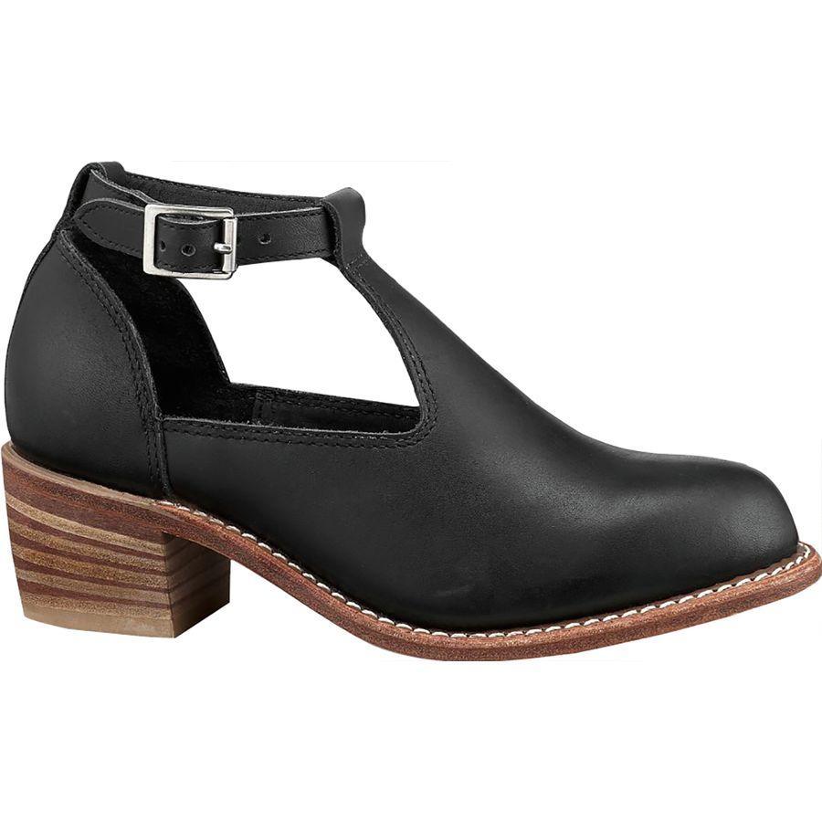 (取寄)レッドウィング レディース ヘリテイジ アイダ シューズ Red Wing Women Heritage Ida Shoe Black Boundary Leather