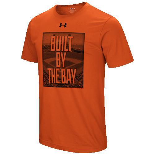 (取寄)アンダーアーマー メンズ MLB ビルト in Tシャツ サン フランシスコ ジャイアンツ Underarmour Men's MLB Built In T-Shirt サン フランシスコ ジャイアンツ Orange