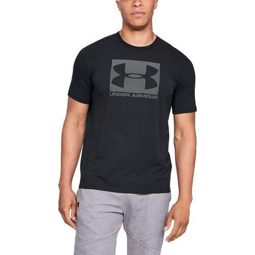 (取寄)アンダーアーマー メンズ ボックスド スポーツスタイル ショート スリーブ Tシャツ Underarmour Men's Boxed Sportstyle Short Sleeve T-Shirt Black Graphite