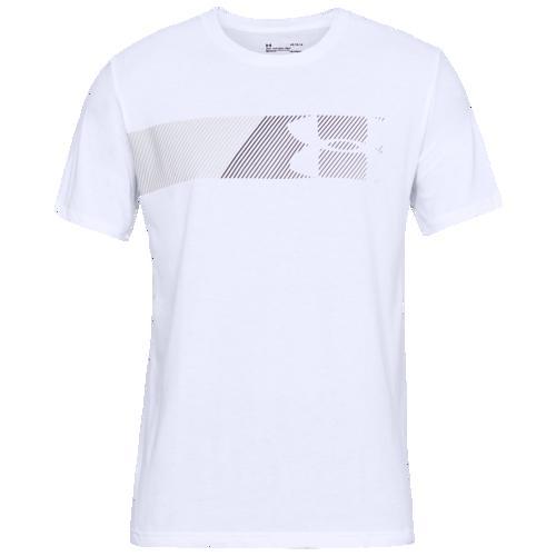 (取寄)アンダーアーマー メンズ ファスト レフト チェック 2.0 Tシャツ Underarmour Men's Fast Left Check 2.0 T-Shirt White Mod Grey