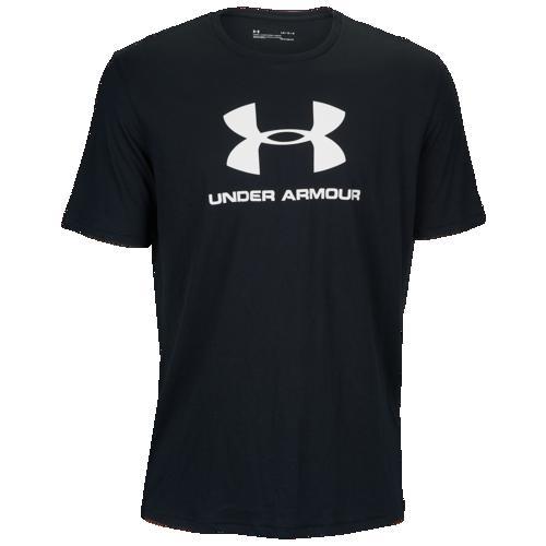 (取寄)アンダーアーマー メンズ スポーツスタイル ロゴ Tシャツ Underarmour Men's Sportstyle Logo T-Shirt Black White