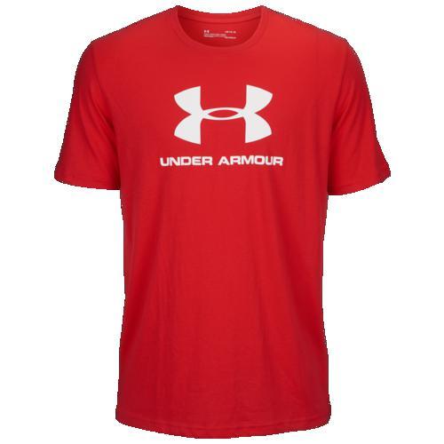 (取寄)アンダーアーマー メンズ スポーツスタイル ロゴ Tシャツ Underarmour Men's Sportstyle Logo T-Shirt Red White