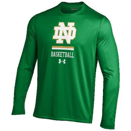 (取寄)アンダーアーマー メンズ カレッジ ロングスリーブ テック Tシャツ Underarmour Men's College L/S tech T-Shirt Kelly Green