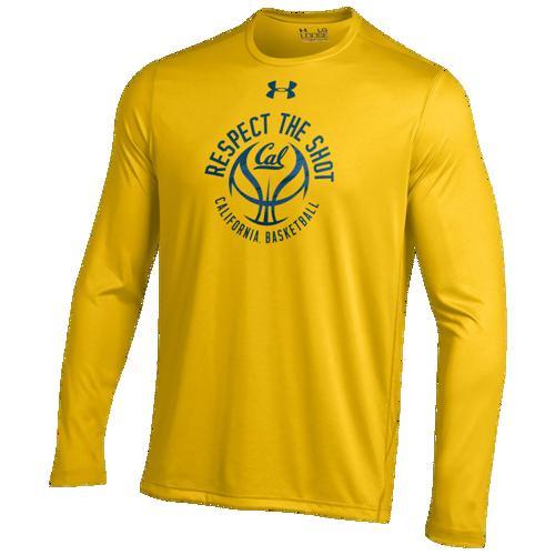 (取寄)アンダーアーマー メンズ カレッジ ロングスリーブ テック Tシャツ Underarmour Men's College L/S tech T-Shirt Gold