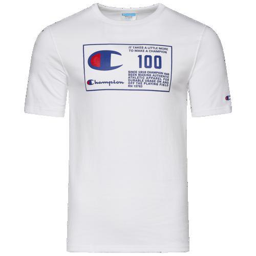 (取寄)チャンピオン メンズ ヘリテージ BTL Jock tag Tシャツ Champion Men's Heritage BTL Jocktag T-Shirt White