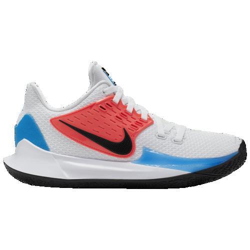 【クーポンで最大2000円OFF】(取寄)ナイキ メンズ バッシュ カイリー ロー 2 バスケットボール シューズ Nike Men's Kyrie Low 2 White Black Blue Hero Flash Crimson