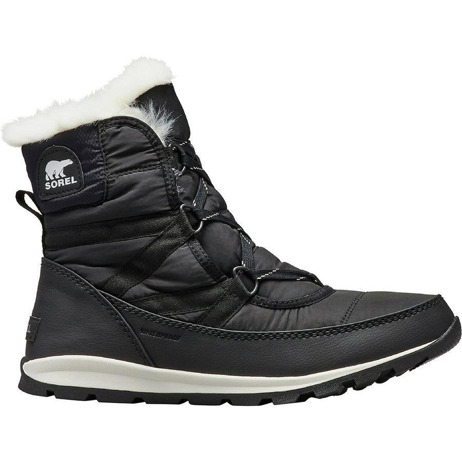 (取寄)ソレル レディース ホイットニー ショート レース ブーツ Sorel Women Whitney Short Lace Boot Black