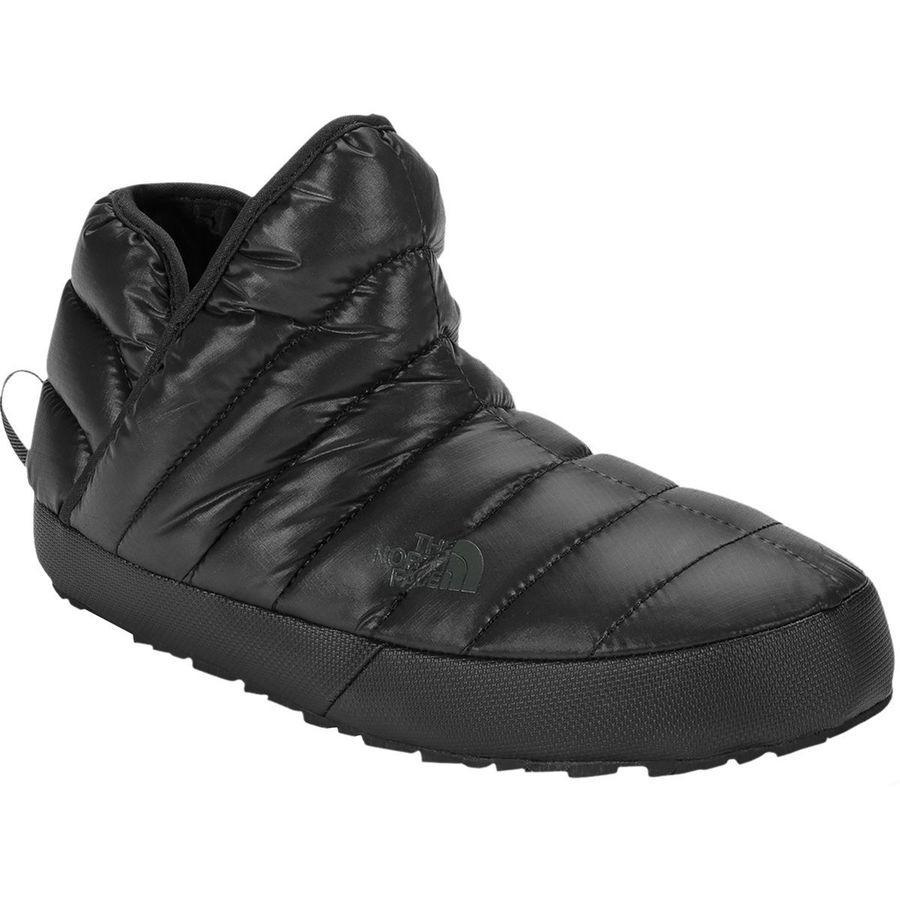 (取寄)ノースフェイス レディース ThermoBall トラクション ブーティー ブーツ The North Face Women ThermoBall Traction ie Boot Shiny Tnf Black/Beluga Grey