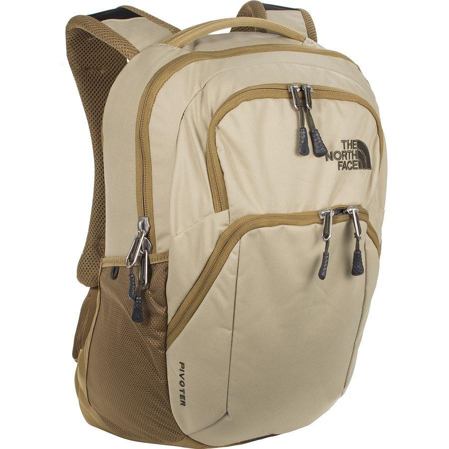 【クーポンで最大2000円OFF】(取寄)ノースフェイス ピボッター 27L バックパック The North Face Men's Pivoter 27L Backpack Twill Beige/British Khaki