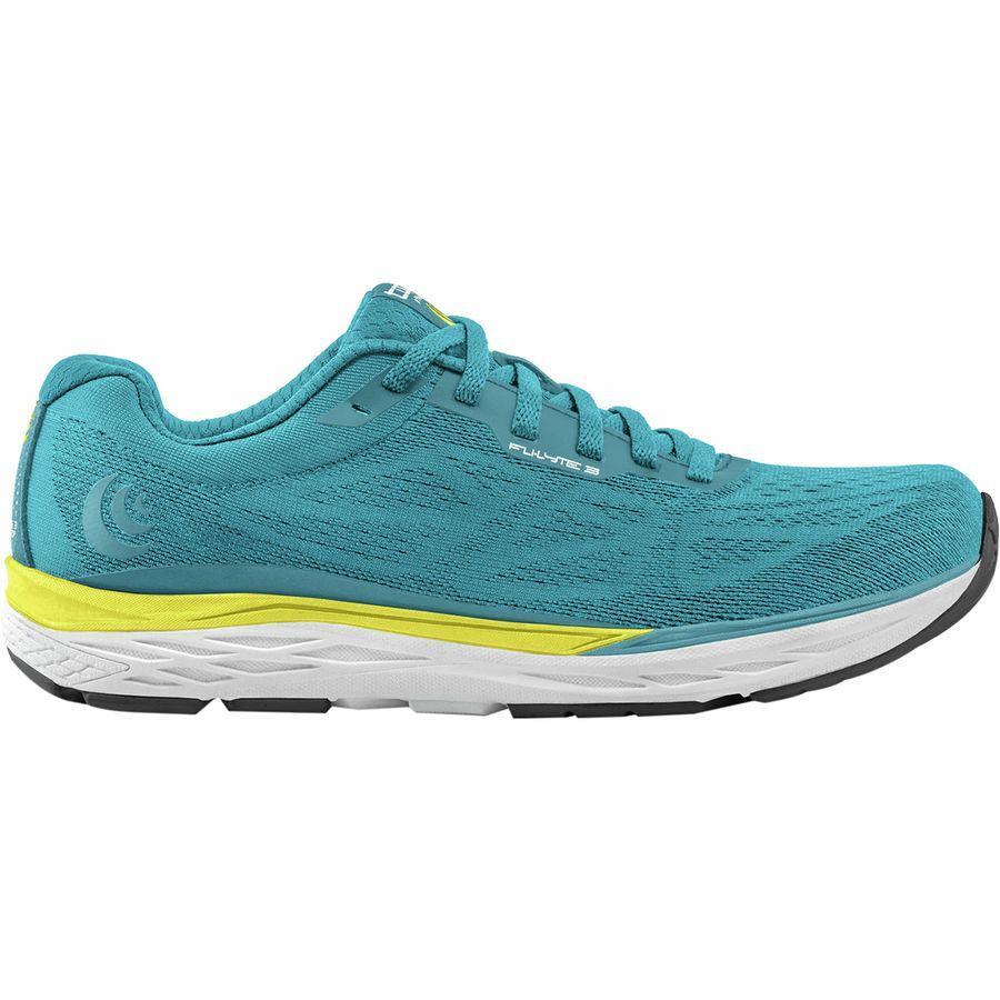 (取寄)トポアスレチック レディース Fli-Lyte3 ランニングシューズ Topo Athletic Women Fli-Lyte 3 Running Shoe Aqua/Yellow