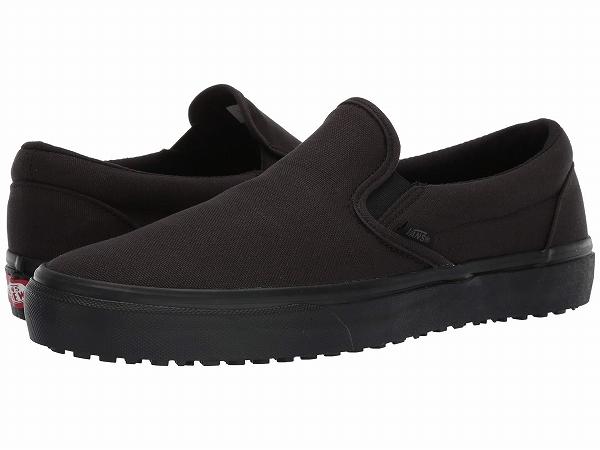 (取寄)Vans(バンズ) スリッポン メイド フォー ザ メーカーズ クラシック スリップ ユニセックス メンズ レディース Vans Unisex Made For The Makers Classic Slip (Made For The Makers) Black/Black/Black