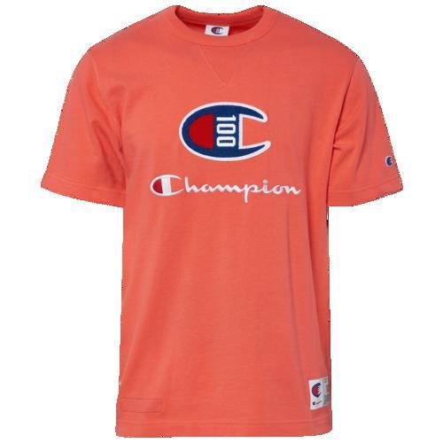(取寄)チャンピオン メンズ センチュリー ショートスリーブ Tシャツ Champion Men's Century S/S T-Shirt Groovy Papaya