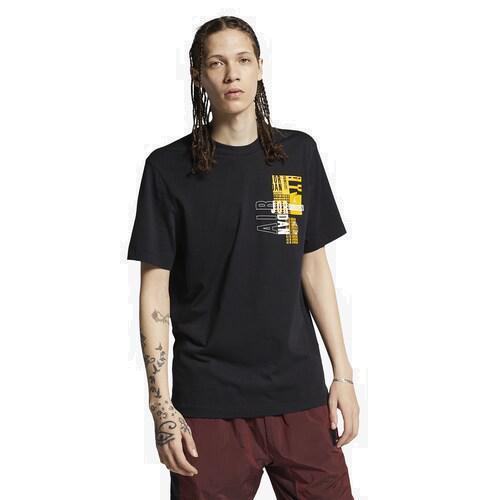 (取寄)ジョーダン ジャンプマン モト Tシャツ Jordan Jumpman Moto T-Shirt Black University Gold Night Moroon