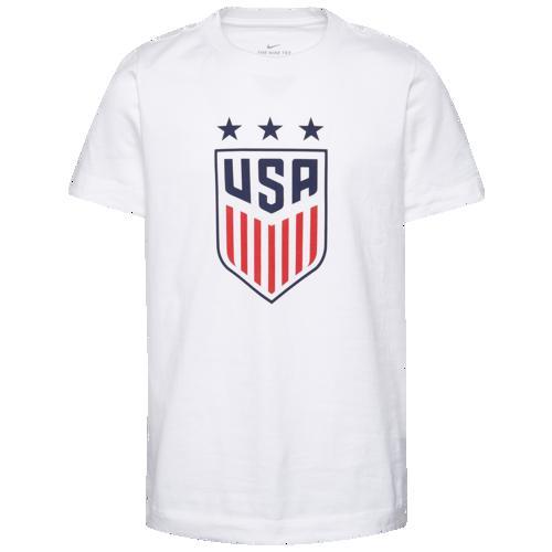 (取寄)ナイキ メンズ クレスト Tシャツ Nike Men's Crest T-Shirt White