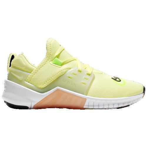 【クーポンで最大2000円OFF】(取寄)ナイキ レディース フリー 10 メトコン 2 Nike Women's Free X Metcon 2 Luminous Green White Orange Electric Green