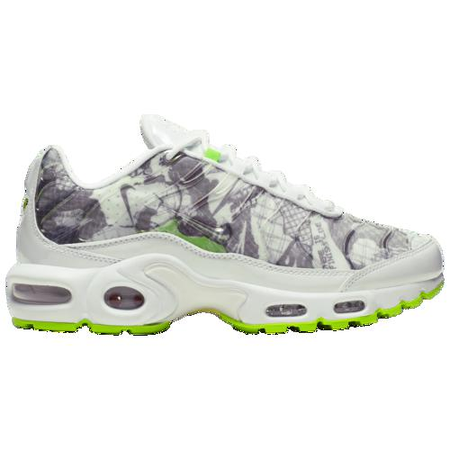 (取寄)ナイキ レディース エア マックス プラス Nike Women's Air Max Plus White White Black Electric Green