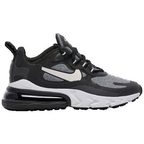 (取寄)ナイキ レディース エア マックス 270 リアクト Nike Women's Air Max 270 React Black Vast Grey Off Noir