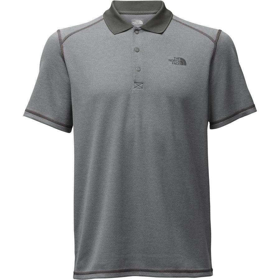 (取寄)ノースフェイス メンズ ホライズン ポロ シャツ ポロシャツ The North Face Men's Horizon Polo Shirt Asphalt Grey Stripe