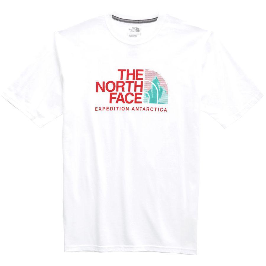 (取寄)ノースフェイス メンズ アンタークティカ コレクターズ HD Tシャツ The North Face Men's Antarctica Collectors HD T-Shirt TNF White