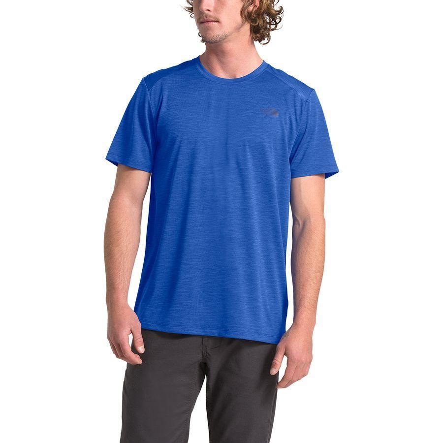 (取寄)ノースフェイス メンズ ハイパーレイヤー FDショートスリーブ クルー The North Face Men's Hyperlayer FD Short-Sleeve Crew Tnf Blue Heather