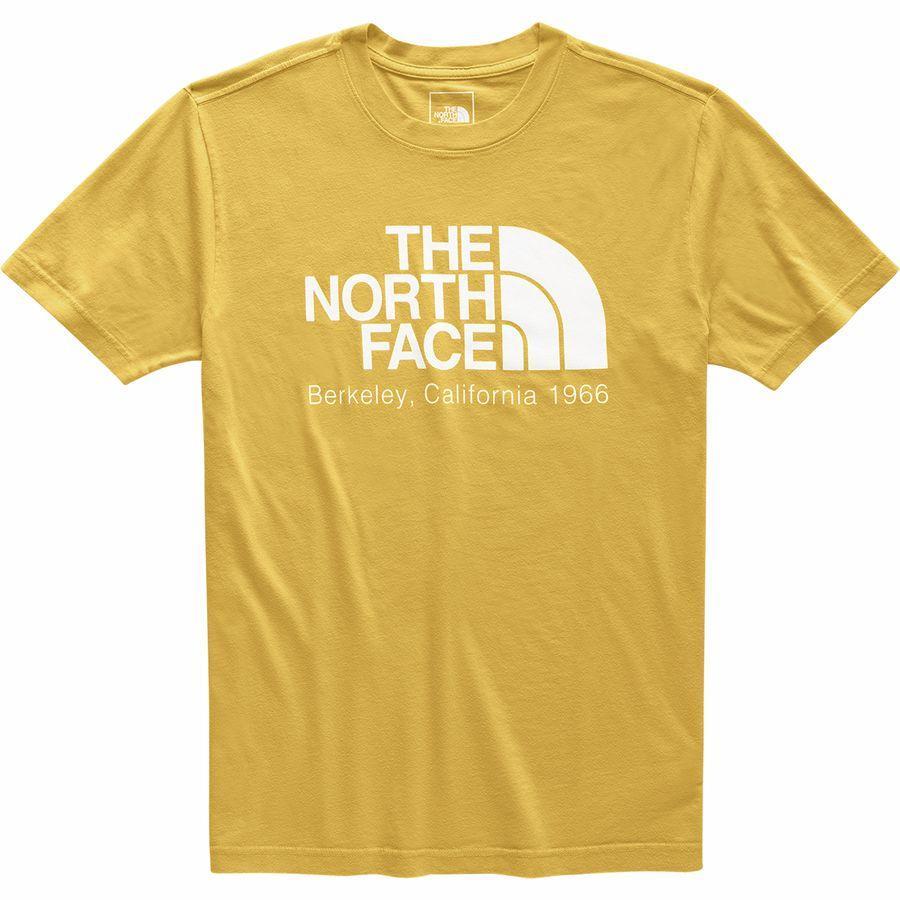 (取寄)ノースフェイス メンズ バック トゥ バークレー Tシャツ The North Face Men's Back To Berkeley T-Shirt Golden Spice/Tnf White