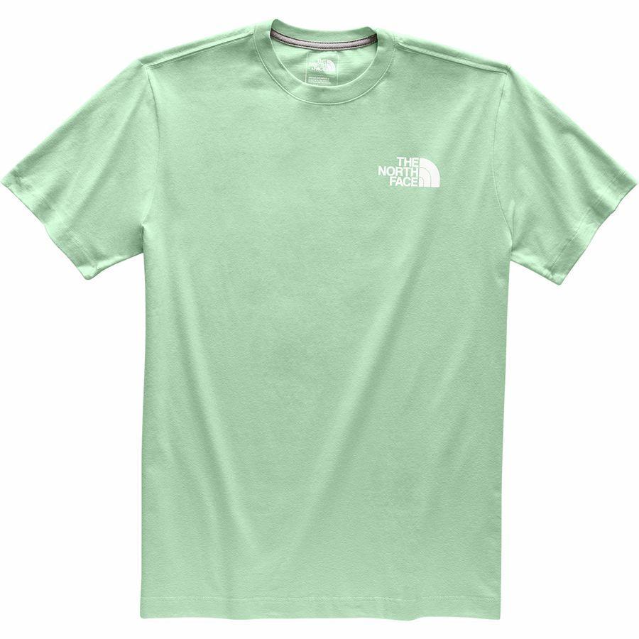 (取寄)ノースフェイス メンズ レッド ボックス Tシャツ The North Face Men's Red Box T-Shirt Silt Green/Silt Green