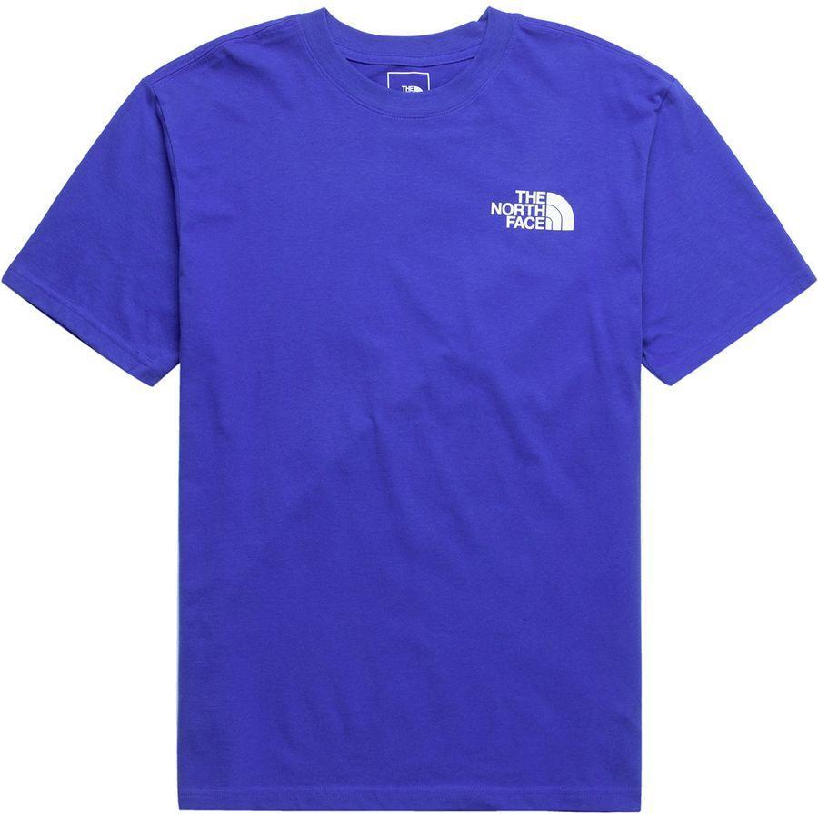 (取寄)ノースフェイス メンズ レッド ボックス Tシャツ The North Face Men's Red Box T-Shirt Tnf Blue/Tnf Black
