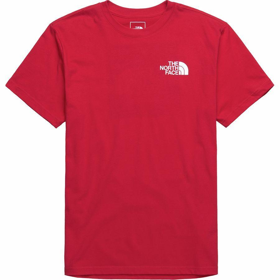 (取寄)ノースフェイス メンズ レッド ボックス Tシャツ The North Face Men's Red Box T-Shirt Tnf Red/Tnf White