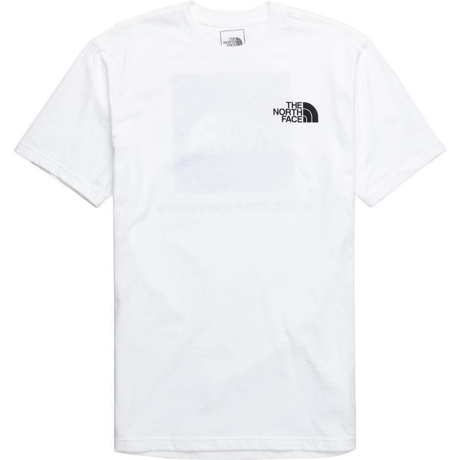 (取寄)ノースフェイス メンズ レッド ボックス Tシャツ The North Face Men's Red Box T-Shirt Tnf White/Tnf Black