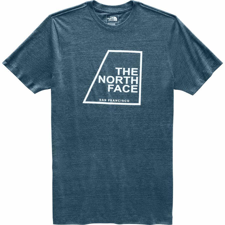 (取寄)ノースフェイス メンズ アワー DNA Tシャツ The North Face Men's Our DNA T-Shirt Blue Wing Teal Heather