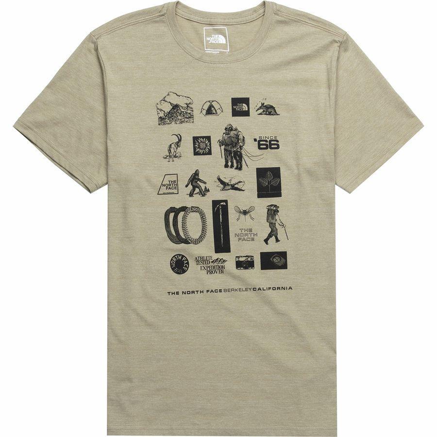 (取寄)ノースフェイス メンズ アワー DNA Tシャツ The North Face Men's Our DNA T-Shirt Crockery Beige Heather
