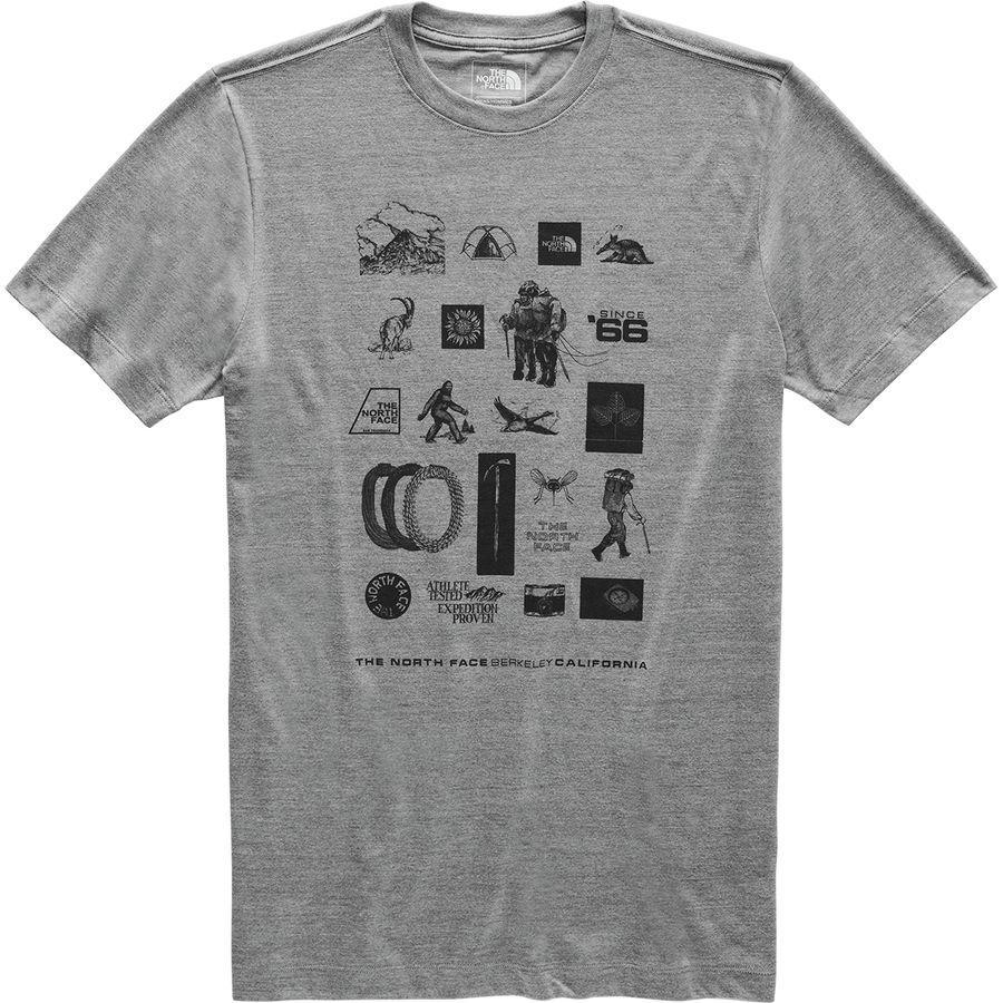 (取寄)ノースフェイス メンズ アワー DNA Tシャツ The North Face Men's Our DNA T-Shirt Tnf Medium Grey Heather