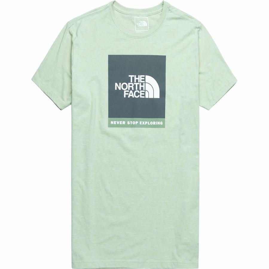 (取寄)ノースフェイス メンズ ボックスド アウト Tri-Blend Tシャツ The North Face Men's Boxed Out Tri-Blend T-Shirt Silt Green Heather