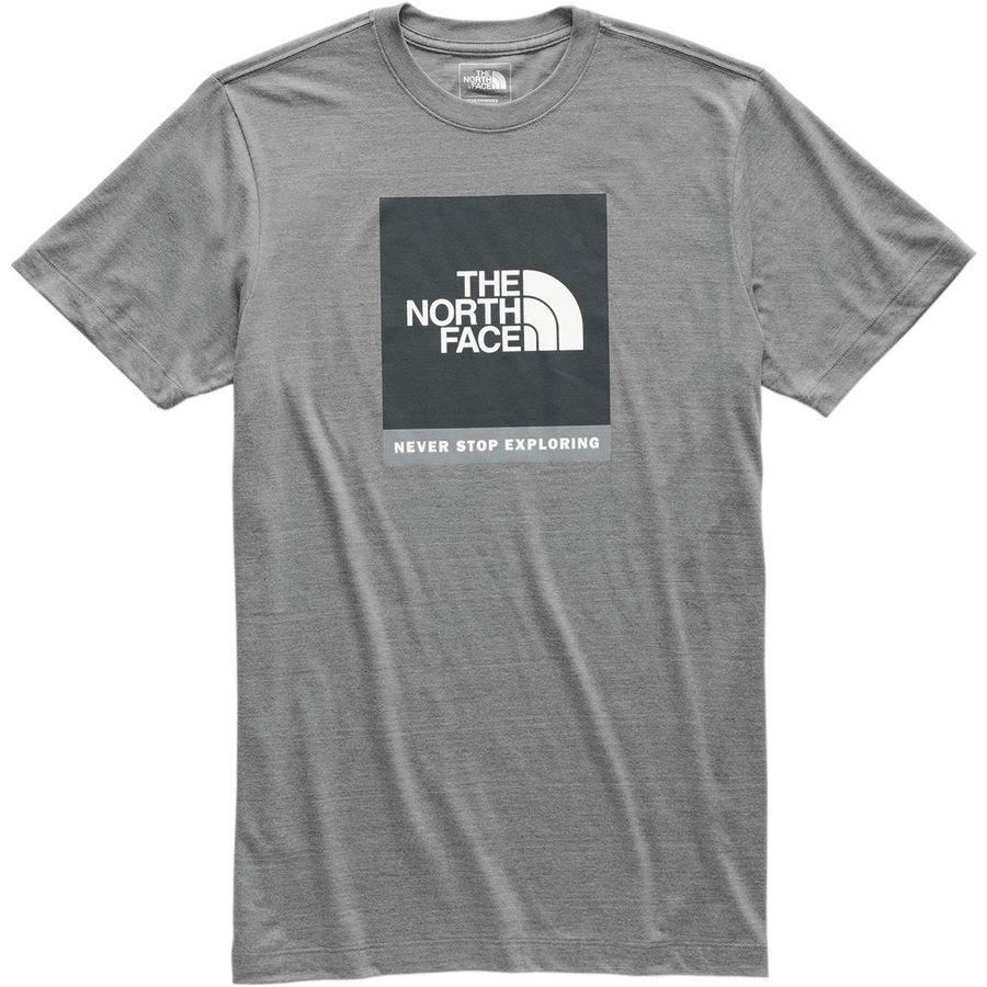 (取寄)ノースフェイス メンズ ボックスド アウト Tri-Blend Tシャツ The North Face Men's Boxed Out Tri-Blend T-Shirt Tnf Medium Grey Heather/Asphalt Grey