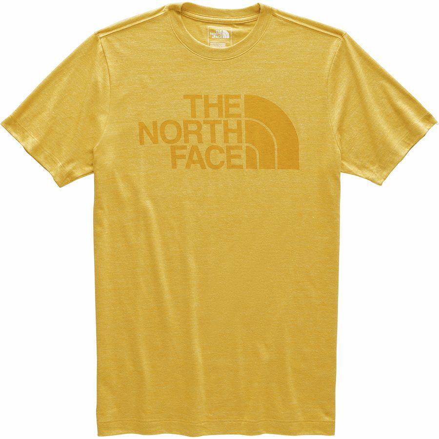 (取寄)ノースフェイス メンズ ハーフ ドーム Tri-Blend Tシャツ The North Face Men's Half Dome Tri-Blend T-Shirt Golden Spice Heather/Golden Spice