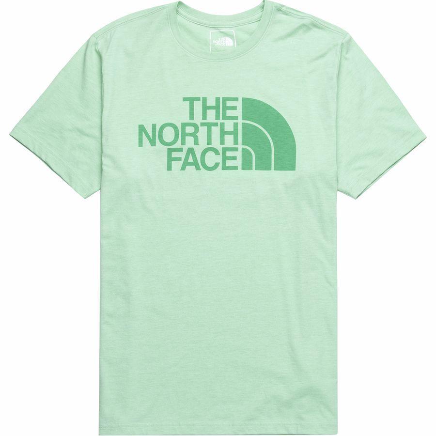 (取寄)ノースフェイス メンズ ハーフ ドーム Tri-Blend Tシャツ The North Face Men's Half Dome Tri-Blend T-Shirt Silt Green Heather/Silt Green