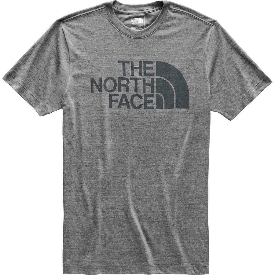 (取寄)ノースフェイス メンズ ハーフ ドーム Tri-Blend Tシャツ The North Face Men's Half Dome Tri-Blend T-Shirt Tnf Medium Grey Heather/Asphalt Grey
