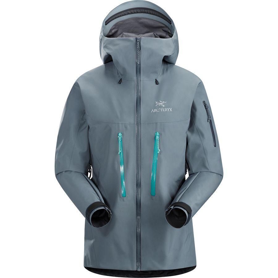 【マラソン ポイント10倍】(取寄)アークテリクス レディース アルファ SV ジャケット Arc'teryx Women Alpha SV Jacket Proteus