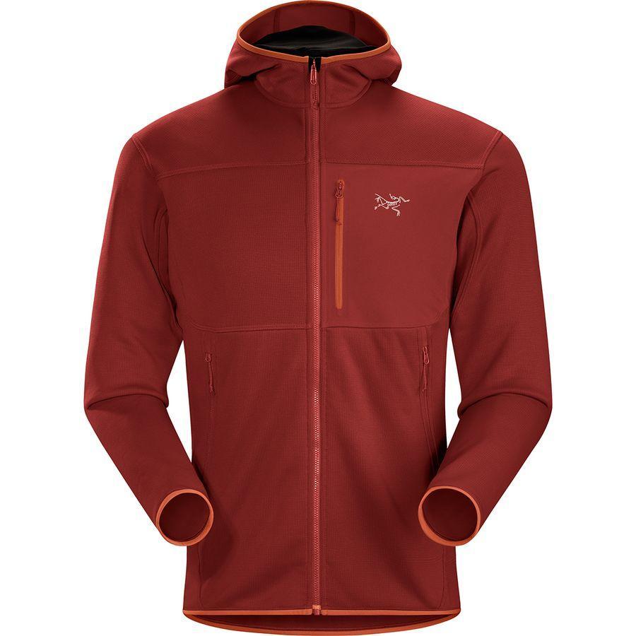 【クーポンで最大2000円OFF】(取寄)アークテリクス メンズ フォートレズ フーデッド フリース ジャケット Arc'teryx Men's Fortrez Hooded Fleece Jacket Infrared
