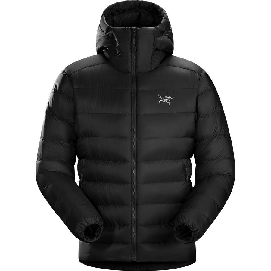 (取寄)アークテリクス メンズ セリウム SV フーデッド ダウン ジャケット Arc'teryx Men's Cerium SV Hooded Down Jacket Black