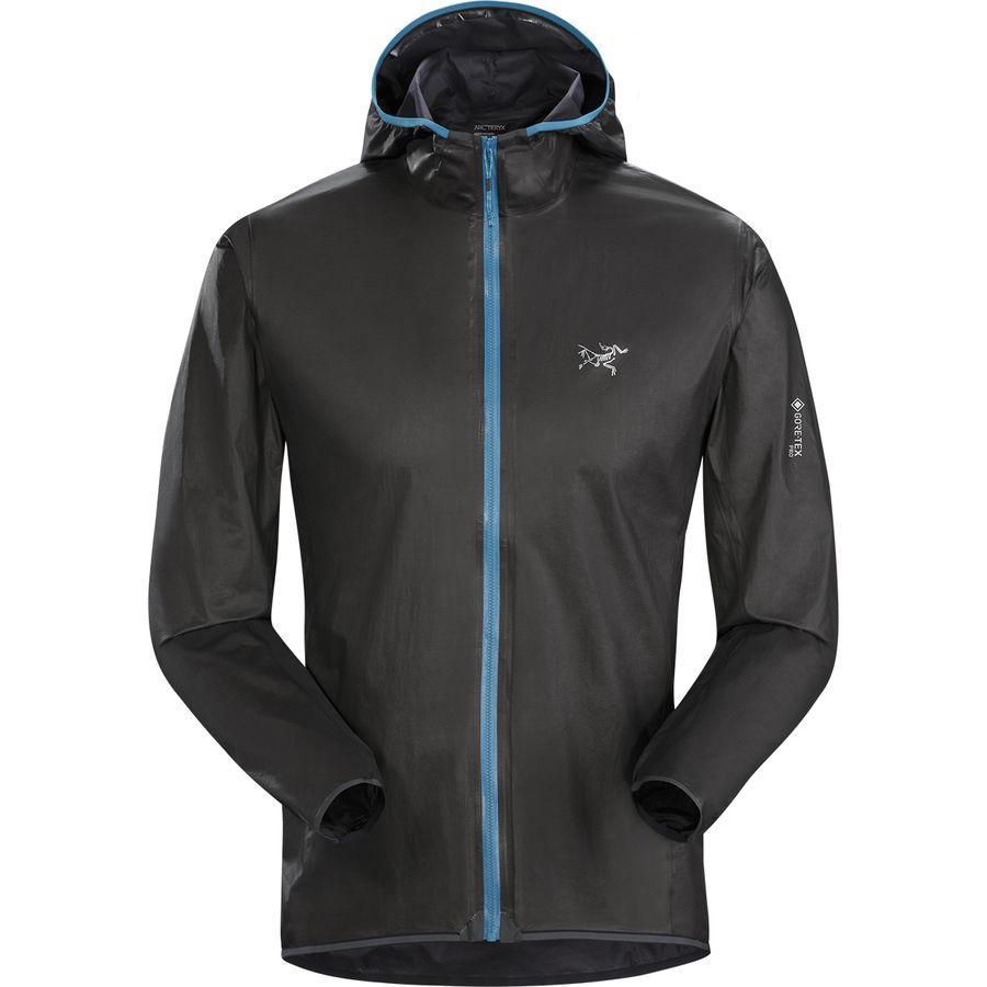 【クーポンで最大2000円OFF】(取寄)アークテリクス メンズ ノーバン SL フーデッド ジャケット Arc'teryx Men's Norvan SL Hooded Jacket Black/Thalassa