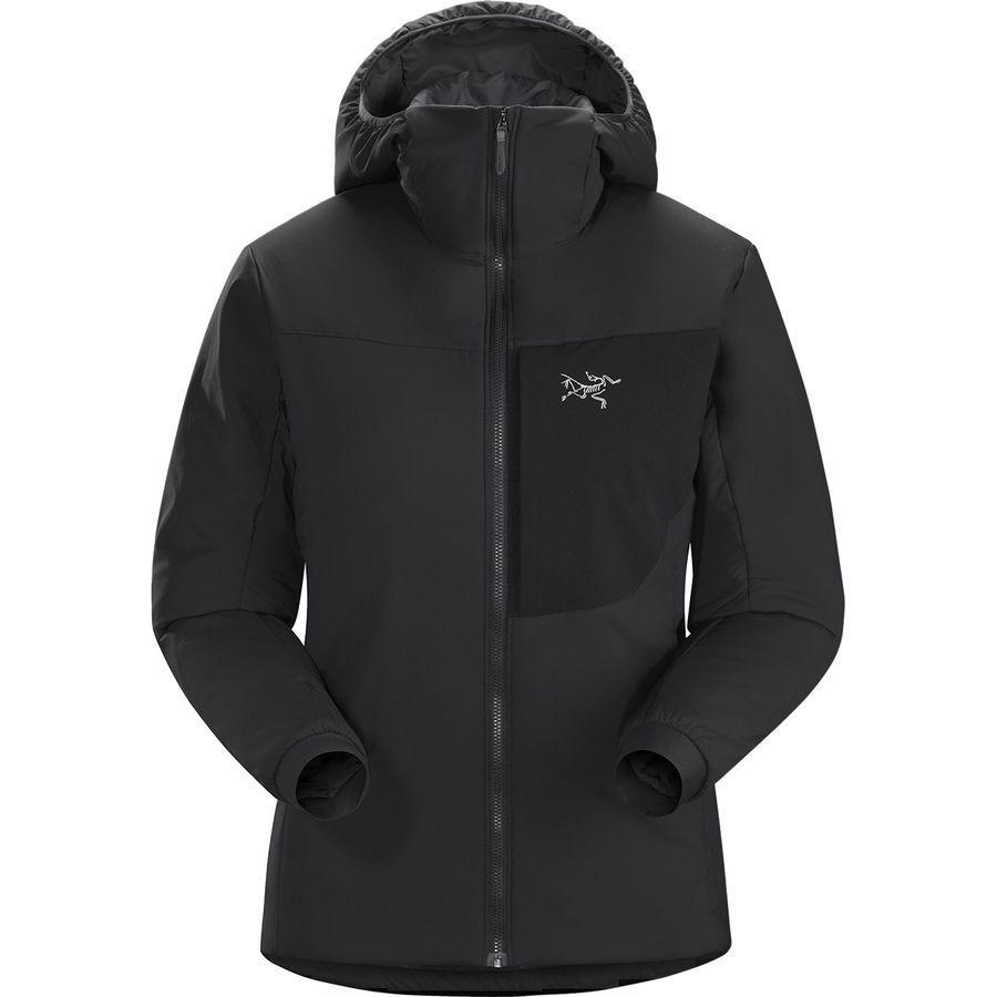 【マラソン ポイント10倍】(取寄)アークテリクス レディース プロトン LT フーデッド インサレーテッド ジャケット Arc'teryx Women Proton LT Hooded Insulated Jacket Black
