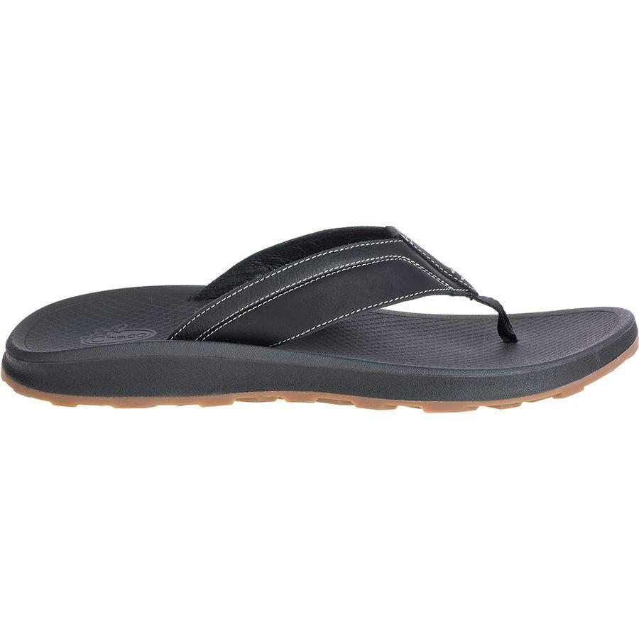 (取寄)チャコ メンズ プラーヤ プロ フリップ フロップ Chaco Men's Playa Pro Flip Flop Black