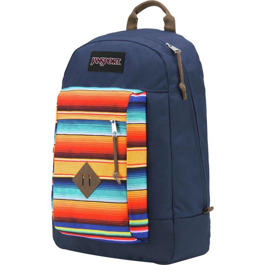 (取寄)ジャンスポーツ ユニセックス ライリー 23L バックパック JanSport Men's Reilly 23L Backpack Fiesta Stripes