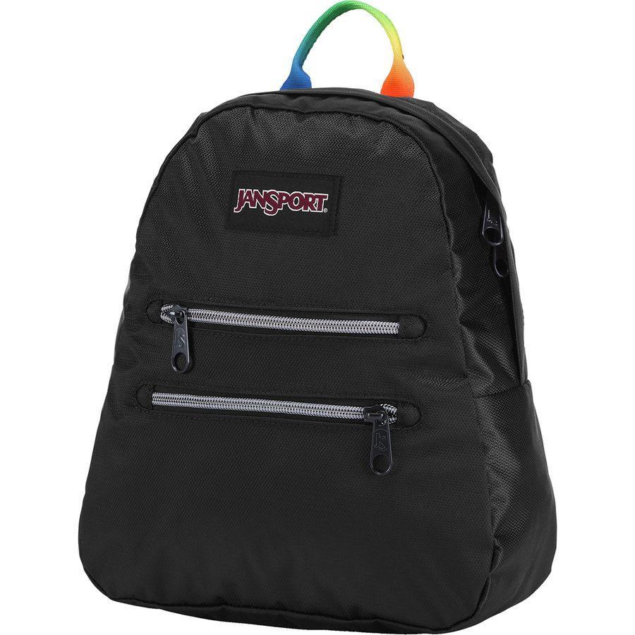 (取寄)ジャンスポーツ ユニセックス ハーフ パイント 2 FX 8L バックパック JanSport Men's Half Pint 2 FX 8L Backpack Rainbow Webbing