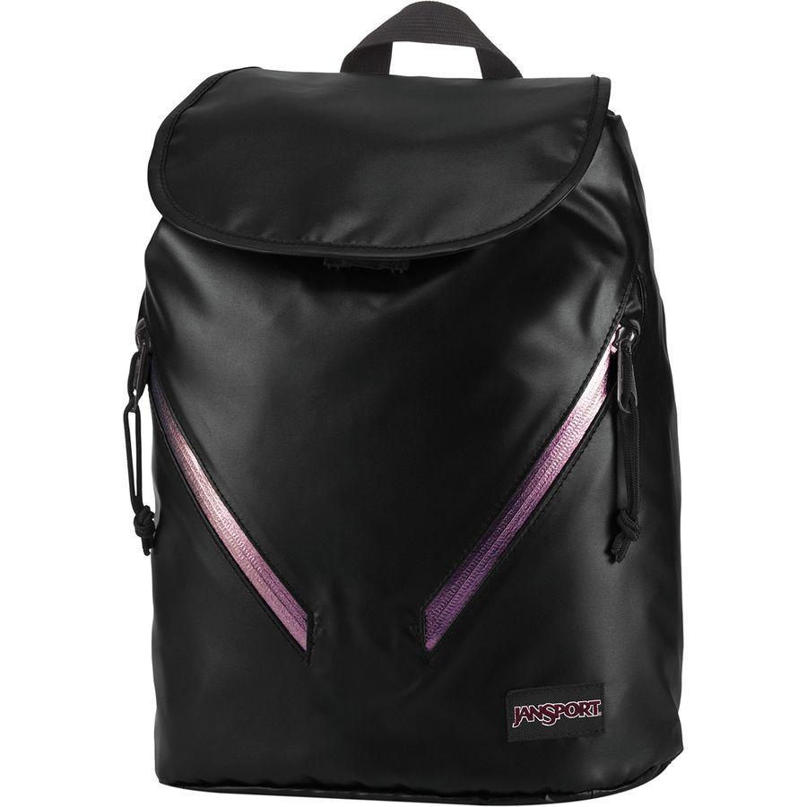 (取寄)ジャンスポーツ ユニセックス ハートウェル FX バックパック JanSport Men's Hartwell FX Backpack Black/Iridescent Zip