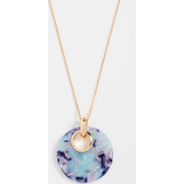 (取寄)ケイトスペード オン ザ ドット スモール ペンダント ネックレス Kate Spade New York On The Dot Small Pendant Necklace BlueMulti
