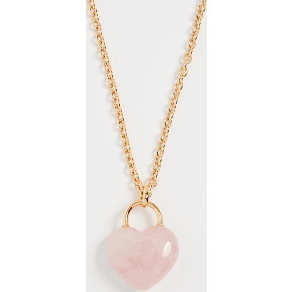 (取寄)ケイトスペード ストーン ストーン ロック ペンダント Kate Spade New York Stone Lock Pendant Pink