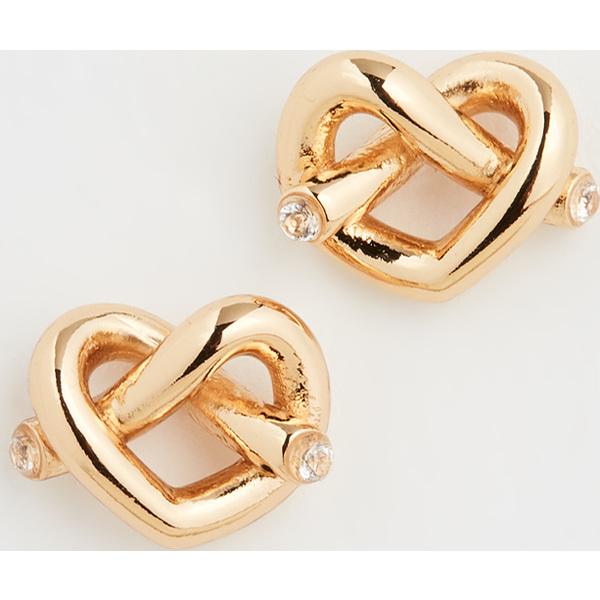 (取寄)ケイトスペード ラブ ミー ノット スタッズ ピアス Kate Spade New York Love Me Knot Stud Earrings Gold