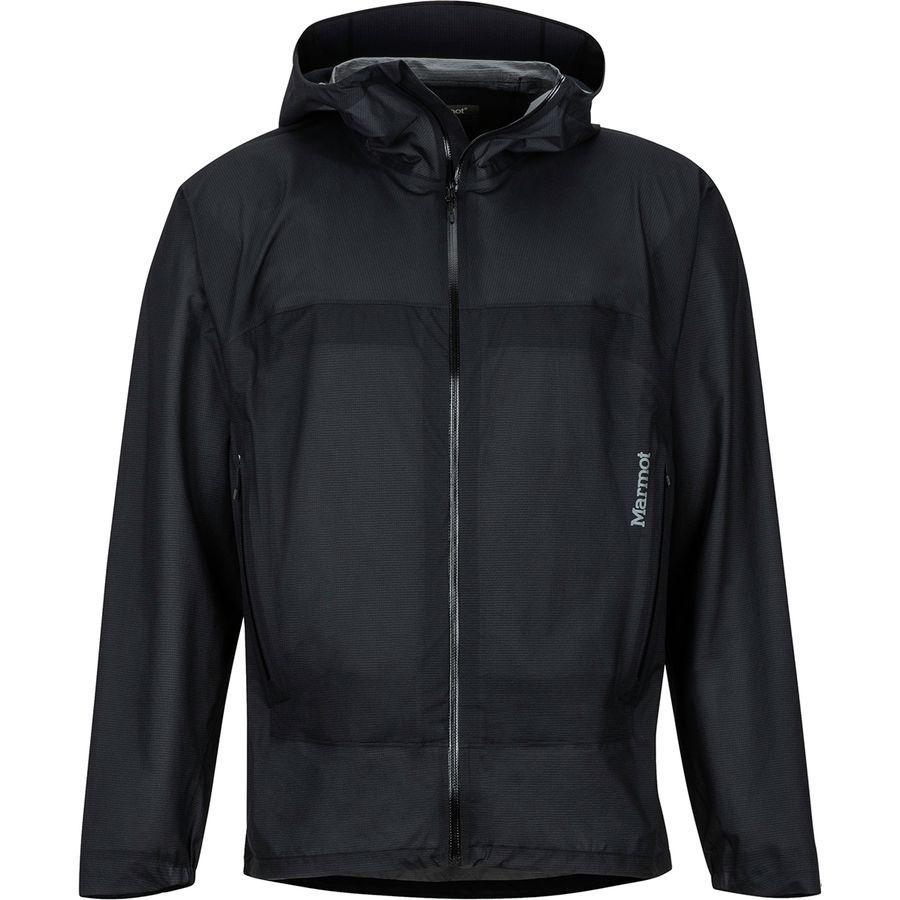 【クーポンで最大2000円OFF】(取寄)マーモット メンズ バンタムウェイト ジャケット Marmot Men's Bantamweight Jacket Black